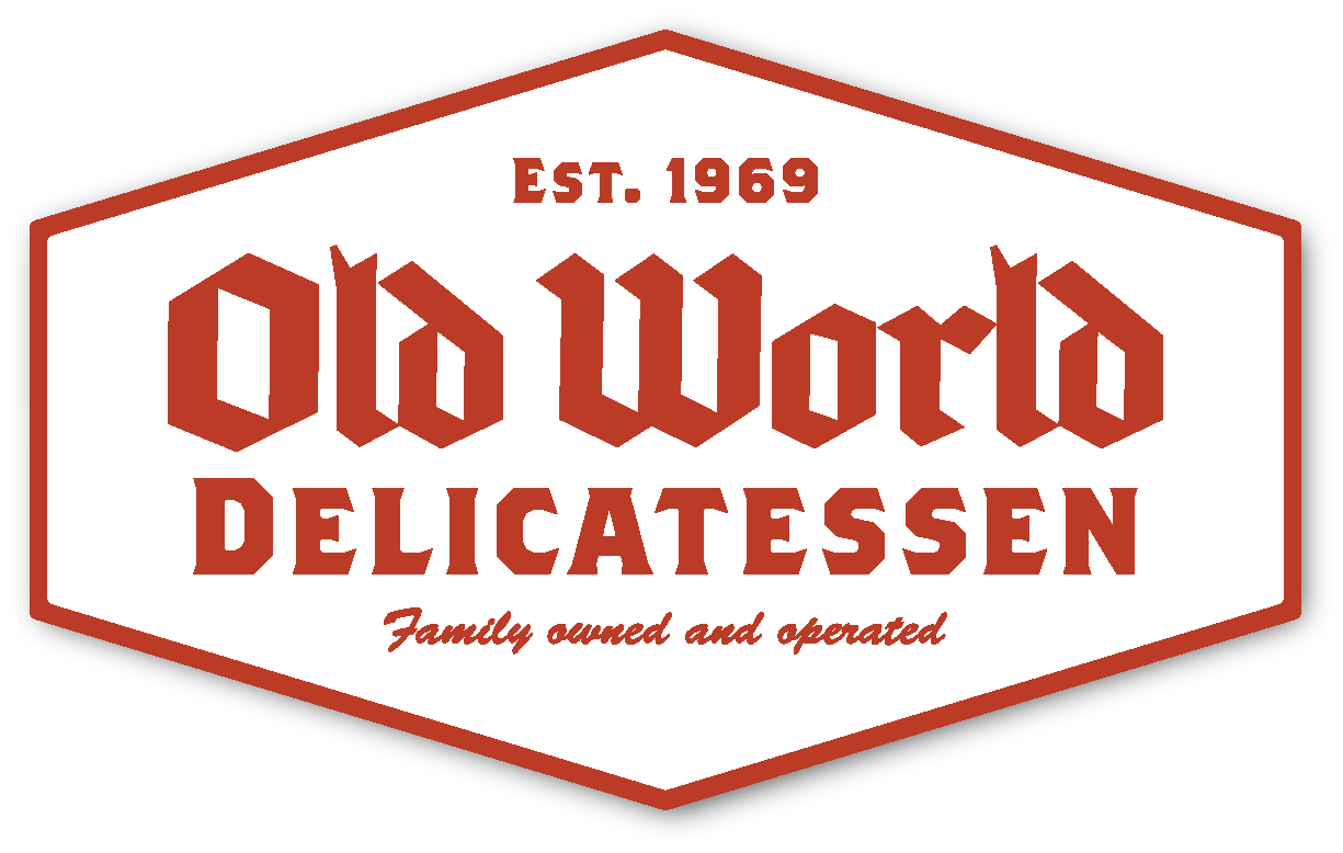 Old World Delicatessen Logo Horizontal